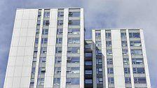 Fünf Hochhäuser wegen Brandgefahr evakuiert