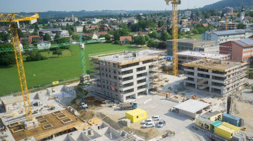 """Projekt """"Seedomizil"""" in Lochau feiert erstes von vier Richtfesten"""