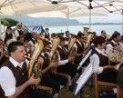"""Frühschoppen mit dem Musikverein auf der """"Alten Fähre"""" im Lochauer Hafen"""
