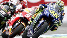 Spektakulär: Rossi gewinnt GP in Assen