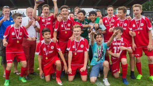 Neue Champions im VFV-Nachwuchsfußball