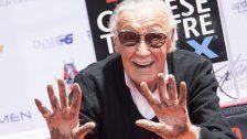 Stan Lee in Zement verewigt