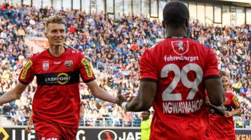 Heroischer Fußball-Abend in Gent - SCR Altach erkämpft sich 1:1!