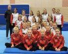 Teamturnerinnen des Turnsportzentrums Dornbirn starten mit Trainingscamp in Stockholm in die neue Saison