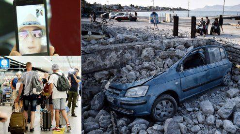 Naturgewalt in Kos: So erlebten Vorarlberger das Erdbeben