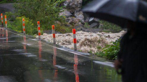 Trotz Dauerregens: Die Lage in Vorarlberg bleibt vorerst ruhig