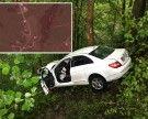 Pkw in Andelsbuch von Fahrbahn abgekommen und gegen Baum gekracht