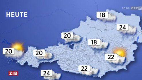 Wetter in Vorarlberg: Jacke statt Sonnenbrille und Badehose