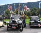 Start zur 11. Motor-Veteranen Trophy in Vorarlberg