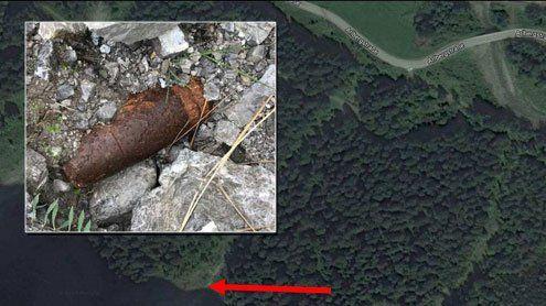 Blindgänger: Panzergranate in Innerbraz nahe S16 gesprengt