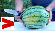 Das habt ihr noch nie mit Wassermelonen gemacht