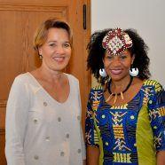 Partnerschaft mit Afrika - Königlicher Besuch in Dornbirn