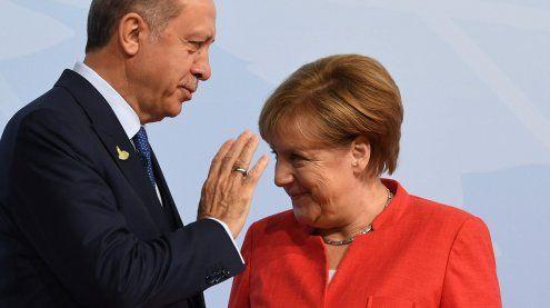 Ganz neue Töne: Türkei-Präsident Erdogan lobt Merkels Politik