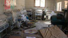 Syrien: Luftangriffe auf Kliniken in Rebellengebiet