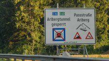 Arlbergtunnel ab Freitag wieder für Verkehr frei