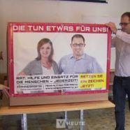 Wahlkampf in Vorarlberg: Wegweisung und Betretungsverbot