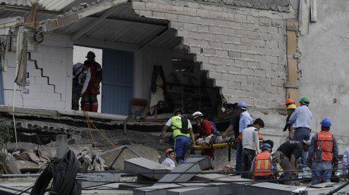Mindestens sieben Tote nach erneutem Erdbeben in Mexiko