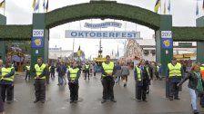 Oktoberfest: Minister überprüft Sicherheit