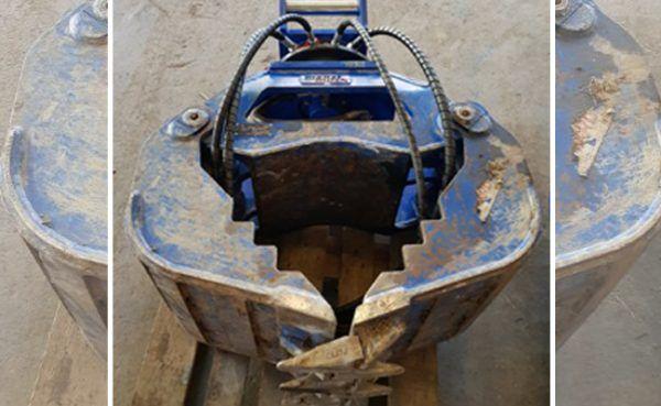 Vorarlberg: 500 Kilo schwerer Bagger-Steingreifer gestohlen