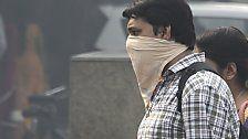 Nach Diwali: Neu Delhi in giftigen Nebel gehüllt