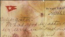 """""""Titanic""""-Brief für 141.000 Euro versteigert"""