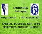 SV frigo Ludesch – Heimspiel gegen FC Lustenau