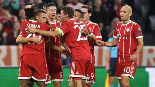 Souveräne Bayern besiegen Celtic - Sechs Tore bei Chelsea vs. Rom